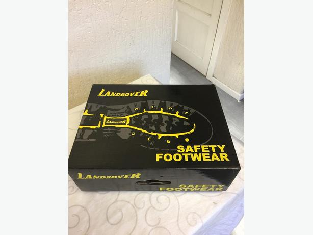 MEN'S BRAND NEW STEEL TOE CAP BOOTS FOR SALE  - COMPLETE WITH BOX - SIZE 12