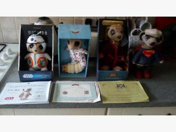 Compare the Meerkat Soft Toy Bundle