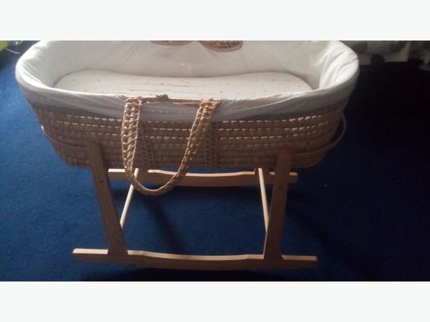 Brand New Moses Basket Baby