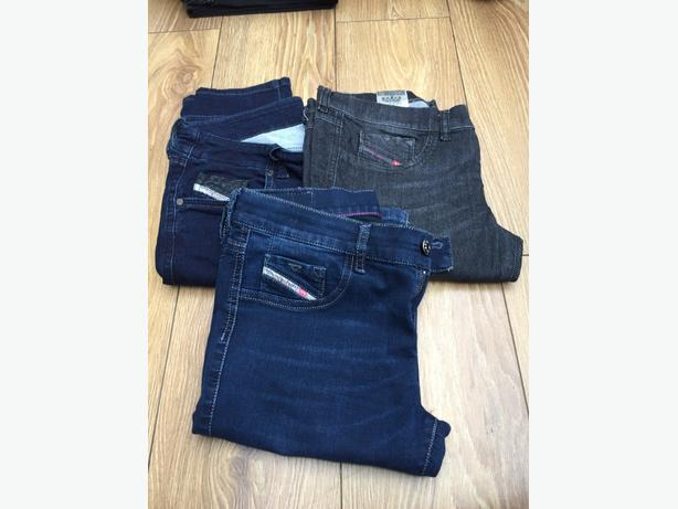 13  pairs of women  tops brands jeans