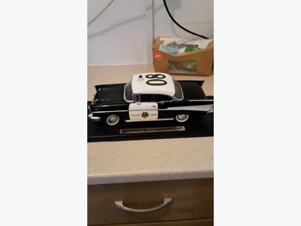 chevrolet be air police car 1957