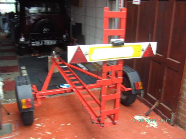 MOTORBIKE TRAILER TOP CONDITION.(REDUCED) QUICK SALE.