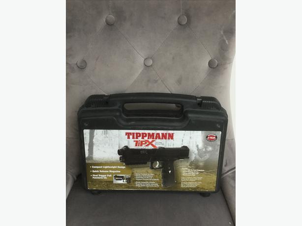 Tippmann TIPX Paintball Pistol Black