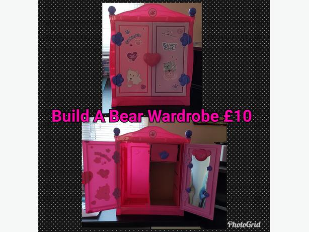 Build A Bear Wardrobe
