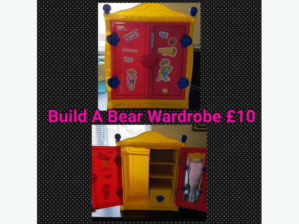 Build A Bear Wardrobe Red And Yellow