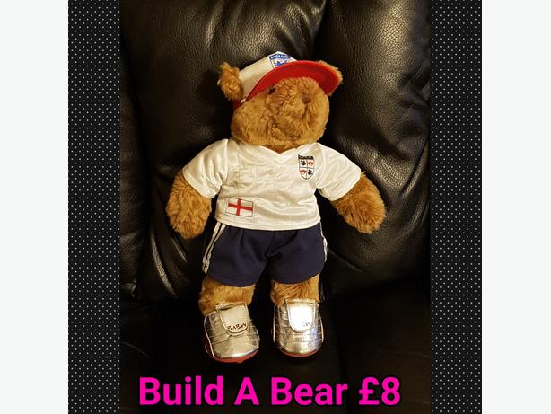 Build A Bear With Football Outfit