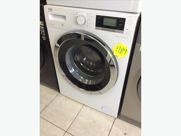BEKO WY104764MW 10kg 1400spin White Washing Machine with 4 MONTHS WARRANTY