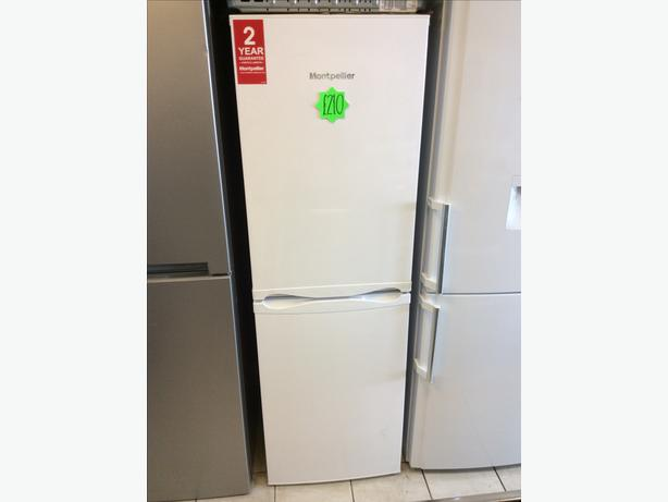 New Montpellier MS170W 50/50 White Fridge Freezer with WARRANTY