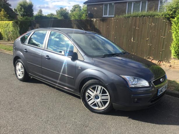 Ford Focus 1.8TDCi 115 Ghia 5dr hatch with FULL MOT - V RARE CAR !