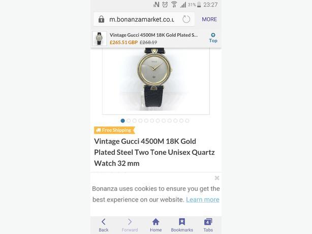 d9a9adb234d bargain vintage gucci watch West Bromwich