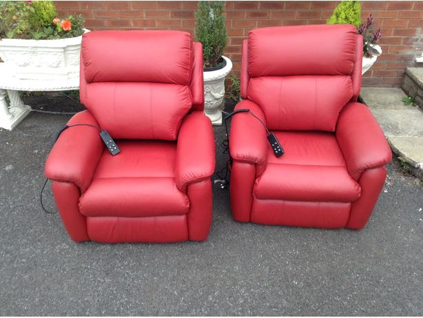 Matching Electric Chairs  (Genuine Leather)