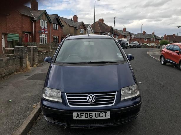 Volkswagen Sharan, NON RUNNER .WONT START  2006 (06)