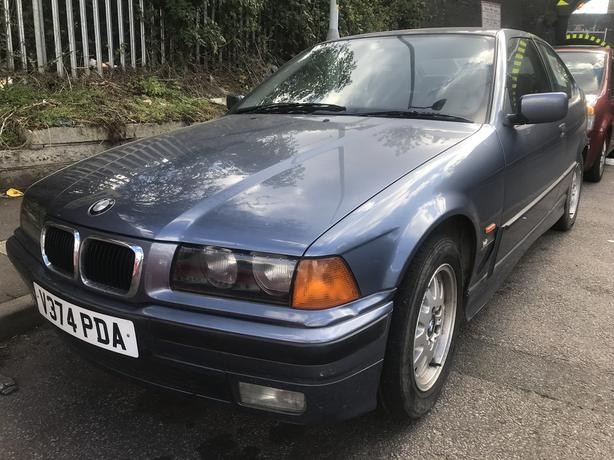 BMW 316I COMPACT AUTO 1999 1.9 petrol blue 3dr - for sale - with mot