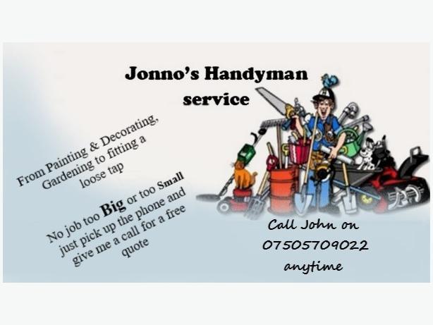 Jonno's Handyman Services