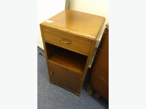 Vintage Pot Cupboard/Bedside Table, Sizes Shown, House Clearance