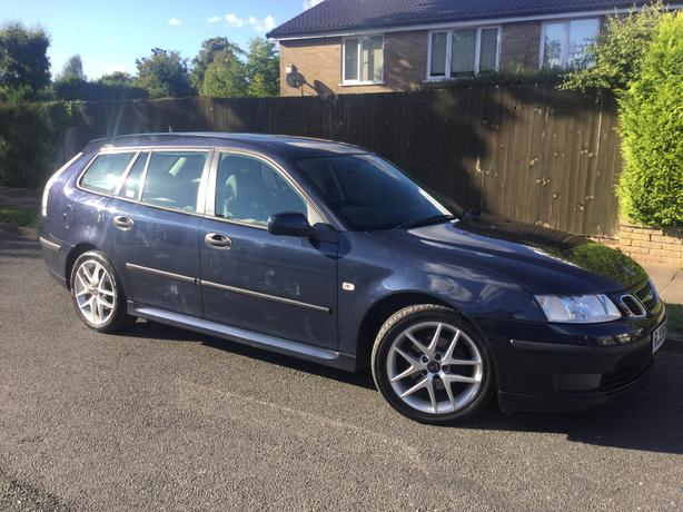 Saab 9-3 Vector Sport 1.9 TiD 150 estate with FSH & FULL MOT !