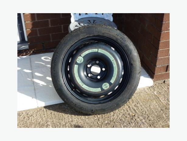 125/80/17 BMW M SPORT SPACESAVER SPARE WHEEL