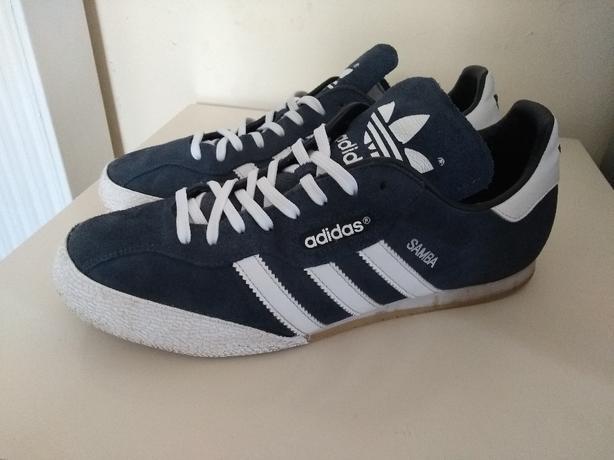 adidas samba trainers size 10