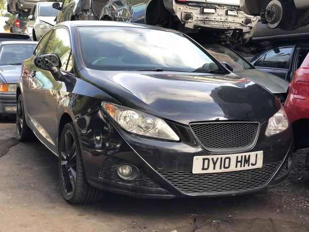 Seat Ibiza 2010 1 4 Petrol Cheap Quick Sale Outside Black