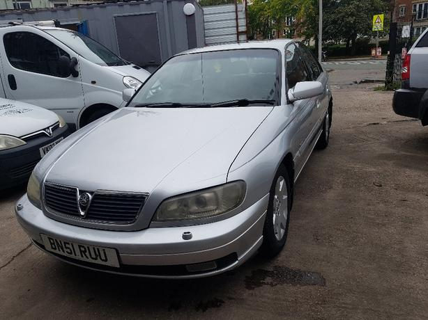 Part Ex To Clear 2001 Vauxhall Omega 24 V6 Cdx Wednesbury