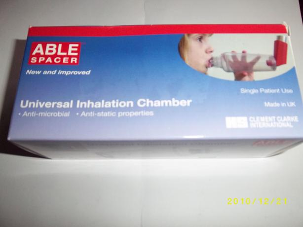 Able Universal Inhalation Chamber