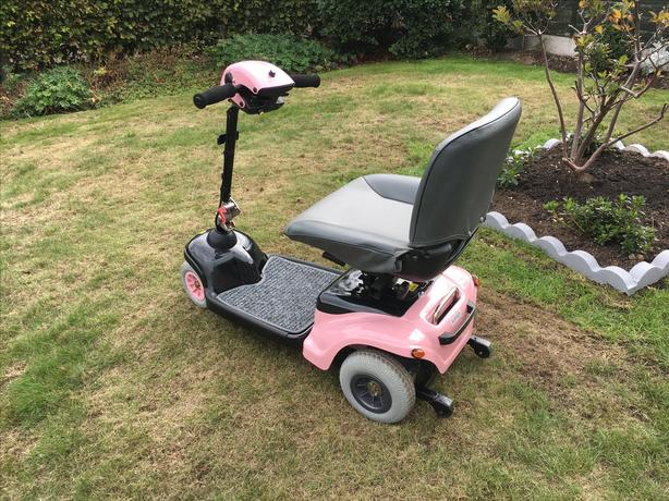  Log In needed £400 · Distinctive Pink FERRARI mobility scooter