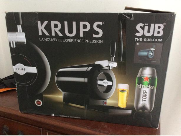 Krups sub beer new beer experience