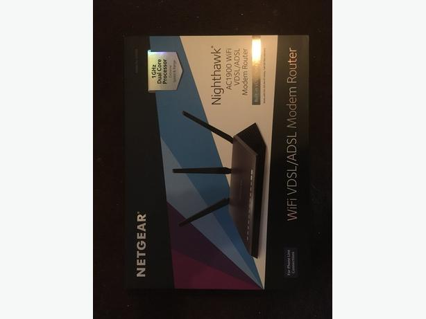 nighthawk D7000 modem router