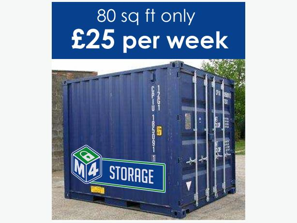 M4 Selfstore - Domestic and commercial storage Swindon