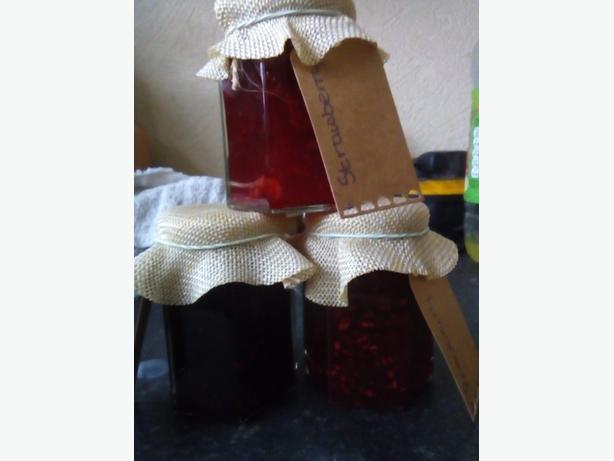 homemade jams