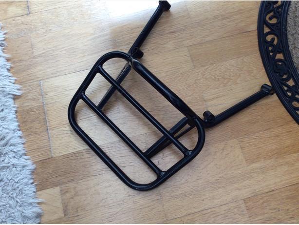 Renntec motorbike back rack