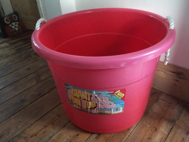 Giant Fun tub storage container for toys games hobbies clothes