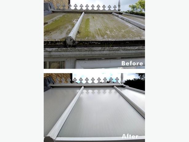 hi-tec hi vaccum gutter cleaning & upvc services ☺☺