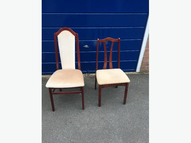 FREE: TWO DINNING CHAIRS FOR FREE