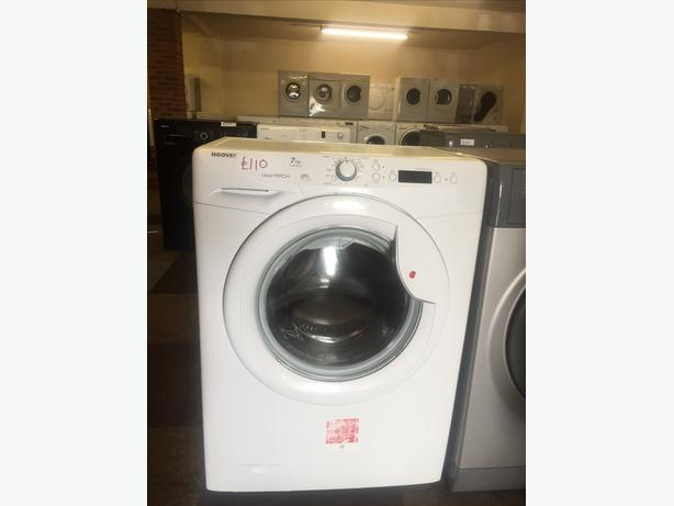 HOOVER WASHING MACHINE/WASHER --7 KG /1500 SPIN WITH GUARANTEE