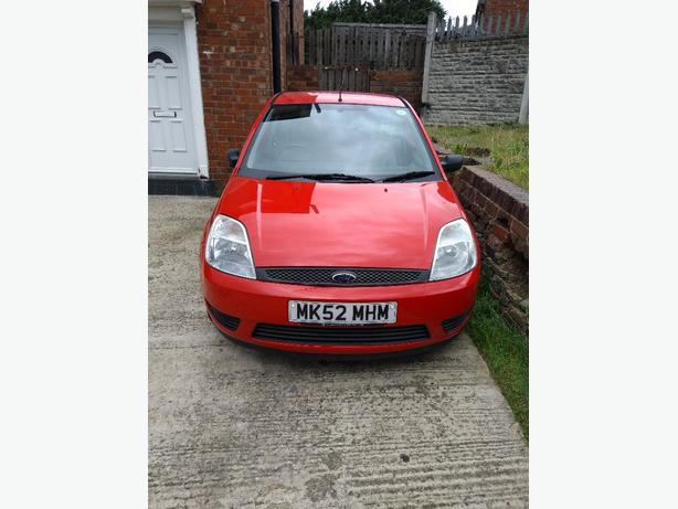 52 plate ford fiesta 1.3 low mileage