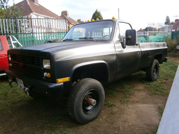  Log In needed £3,100 · 1984 Chevy M1008 / CUCV / K30 American Pickup  Diesel