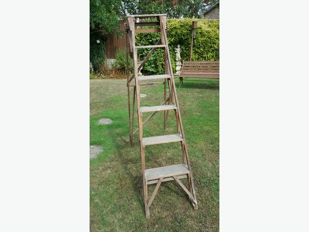Hatherly Jones patent step ladders