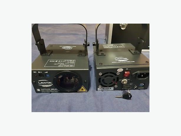 lanta sapphire 2blue laser lights for dj etc