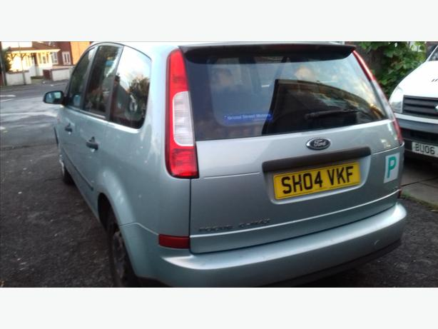 really clean 04plate  1.6 cmax moted drives supurb