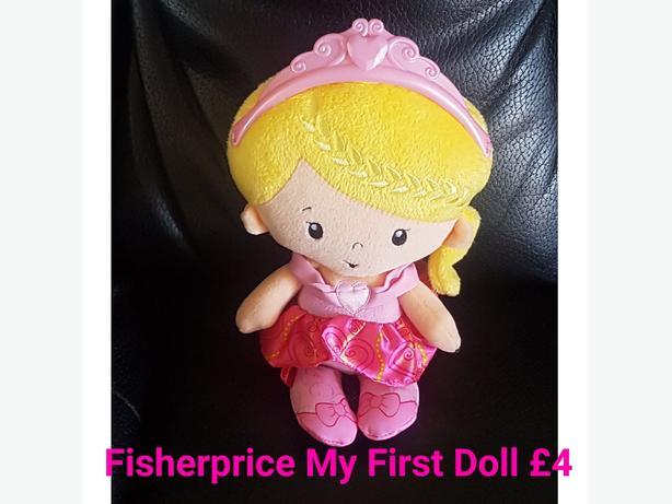 Fisherprice My First Doll