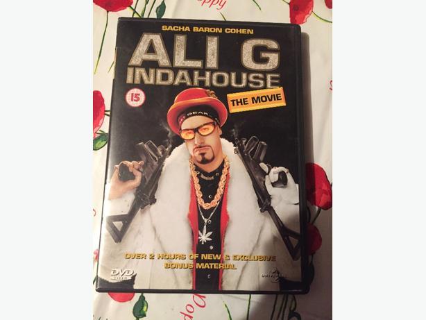 Ali G Indahouse dvd