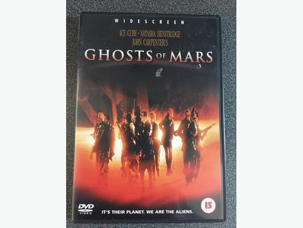 Ghost of Mars dvd