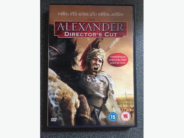 Alexander Director's Cut dvd