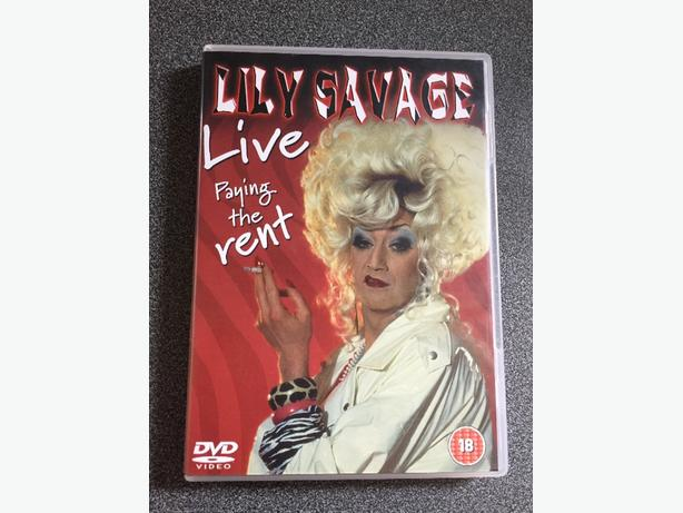 Lily Savage live dvd