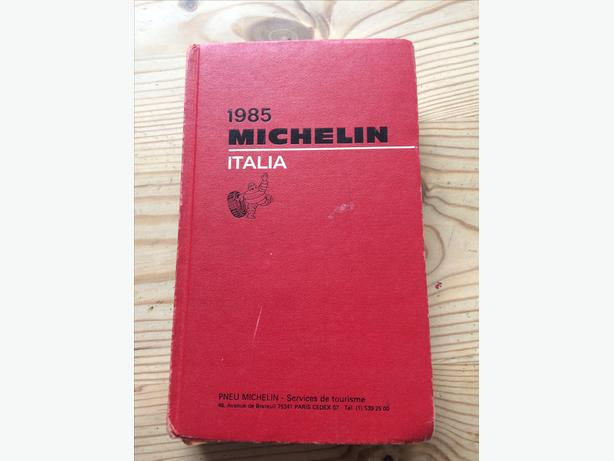 Michelin guide red 1985 Italy gastronomy restaurants hotels tourism