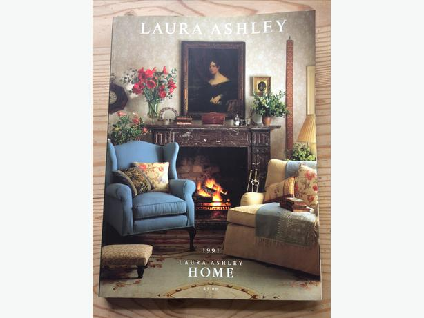 Vintage Laura Ashley Home 1991 Catalogue Decoration