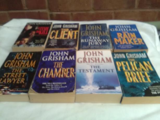 8 John Grisham Books