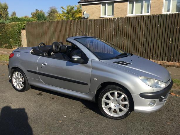 Peugeot 206 CC 2.0i SE - 1 owner with 94k & FMDSH & long MOT !