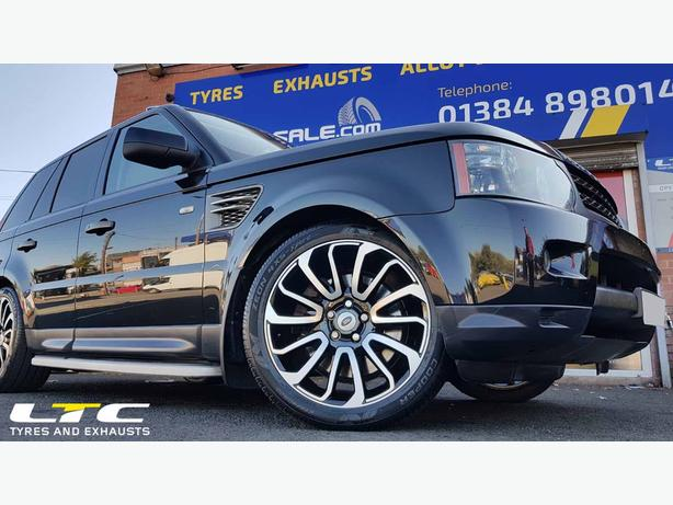 """Set of 20"""" ZX1 Alloy Wheels to fit Range Rover Sport"""